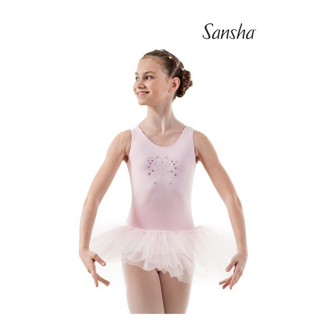 Sansha girls sleeveless tutu dress ROMINA Y2701C