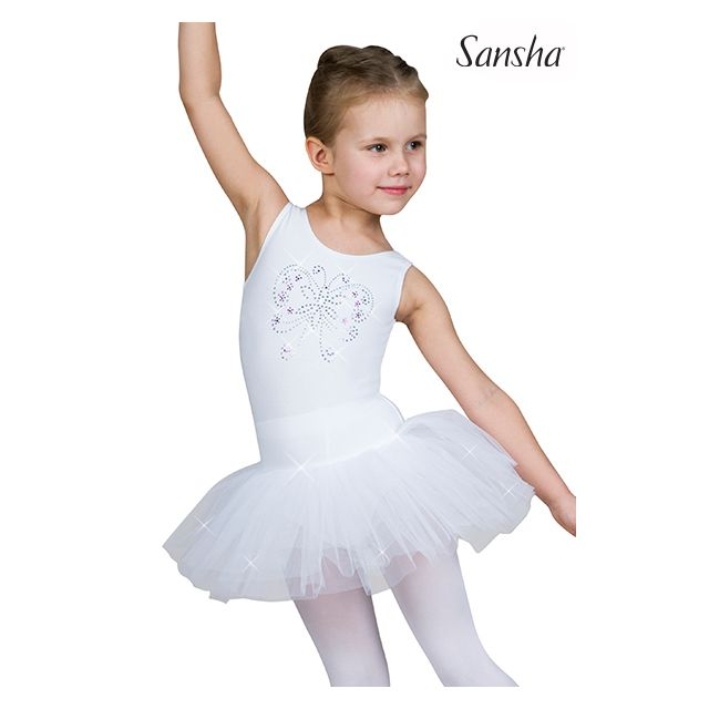 Sansha girls sleeveless tutu dress SADIE Y2702C