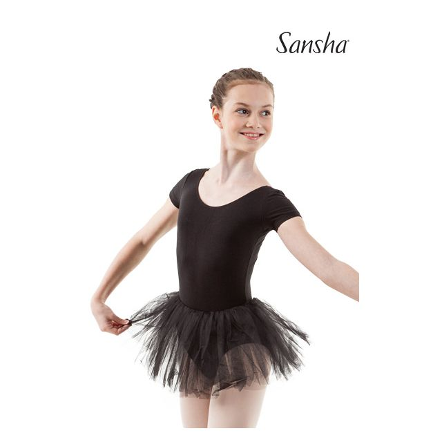 Sansha short sleeve tutu dress MICHELLE Y3703C