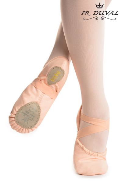 Duval ballet slipper split sole PARIS FR121C