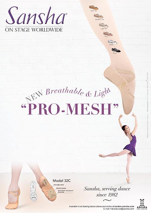 Sansha NEW PRO-MESH 32C