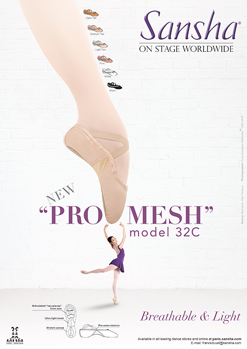 """Sansha NEW """"PRO-MESH"""" 32C"""